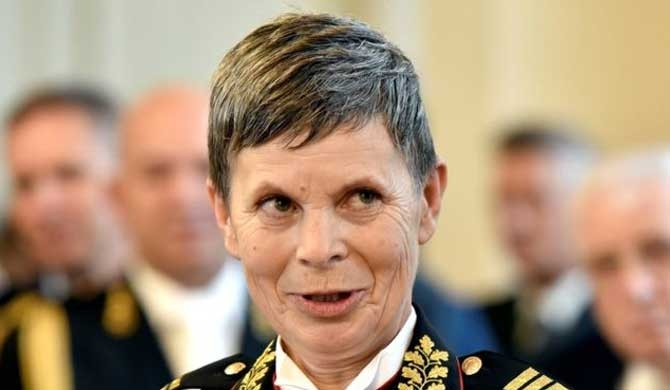 Slovenia, only Nato state with female army chief