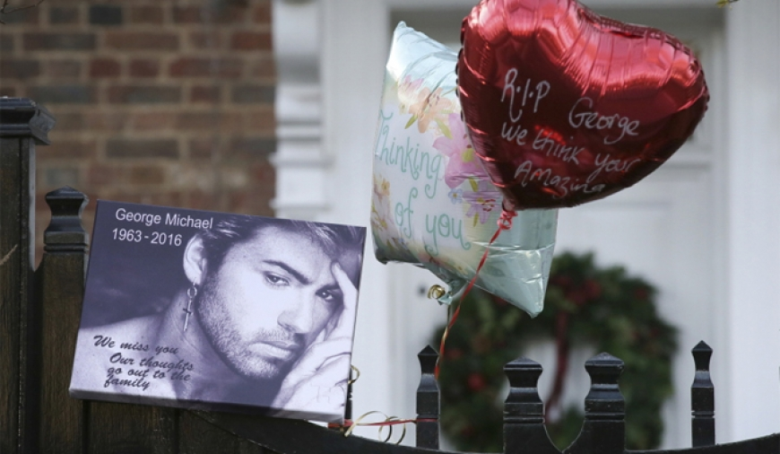 Tributes pour in for George Michael
