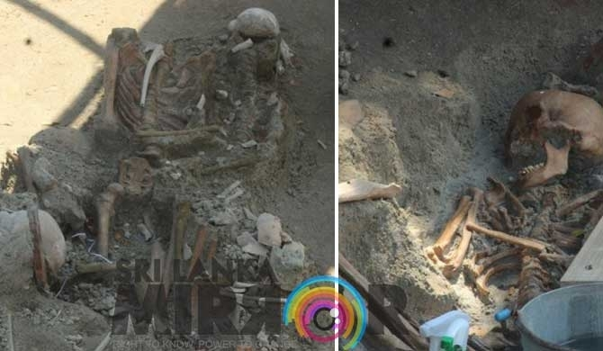 Excavations at Mannar mass grave temporarily suspended.
