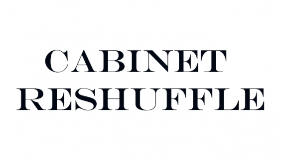 Cabinet Reshuffle : Several portfolios changed