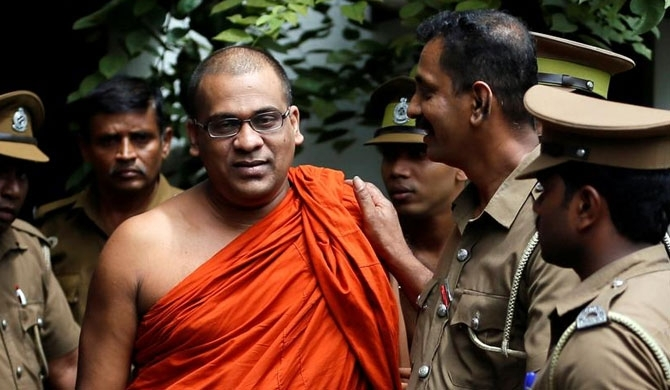 Gnanasara Thero leaves prison unnoticed