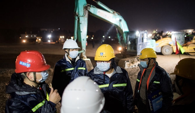 2 hospitals being built in Wuhan for coronavirus patients (videos)