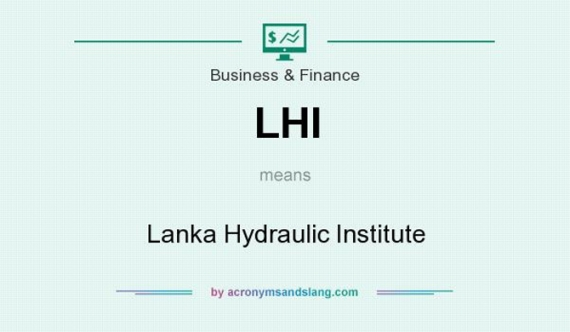 Hydraulic Institute falls onto the hands of a Rajapaksa crony