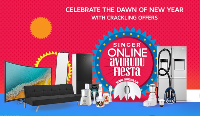 Singer offers great discounts on Online Avurudu Fiesta