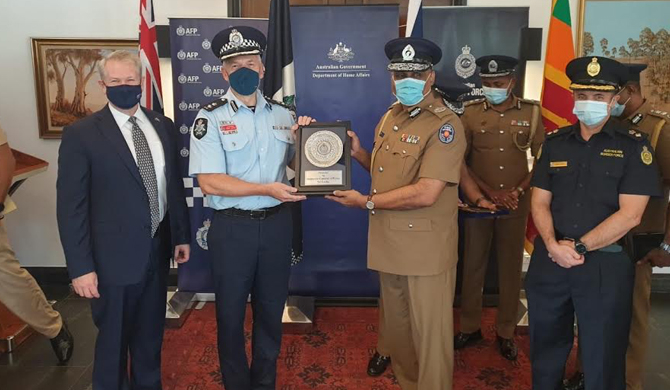 Australia - SL strengthens ties over aerial drone surveillance