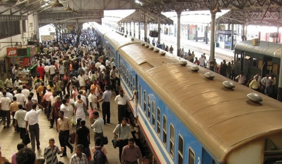 Signs of railway strike this evening