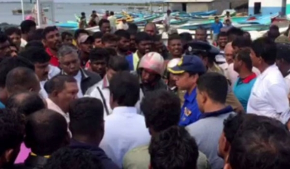 Tension in Mannar: Navy interference (Video)