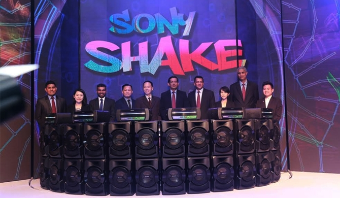 Sony SHAKE launched in SL (Pics)