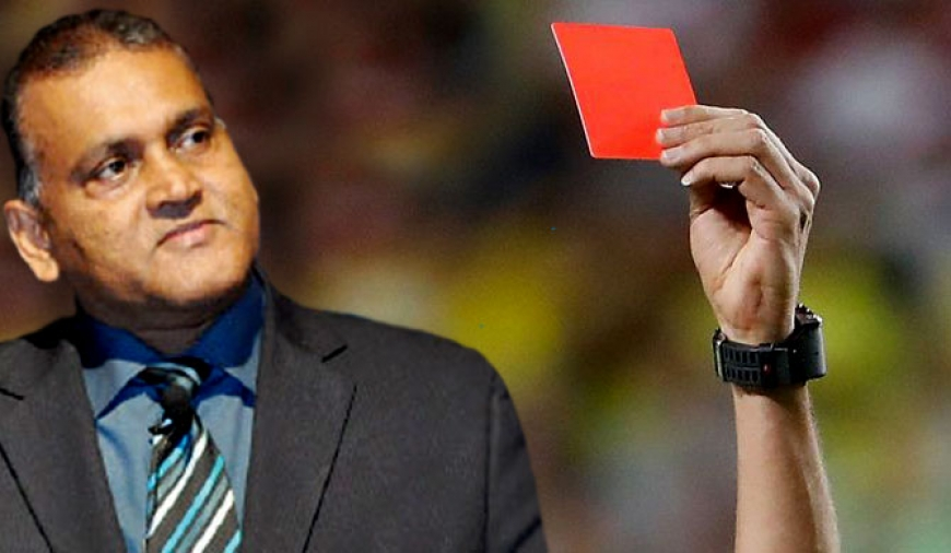 Cricket red cards : a novel concept of Sri Lanka