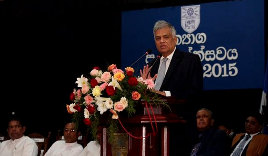 Fonseka, Deshapriya are equals, as they both led wars - Ranil