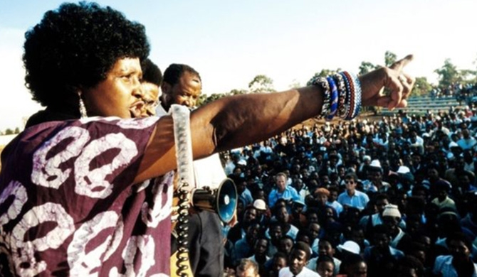 Winnie Mandela - the young mother who refused to be broken