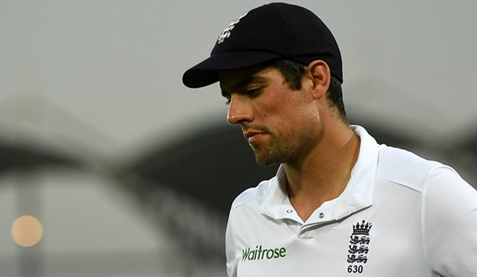 Alastair Cook resigns from captaincy