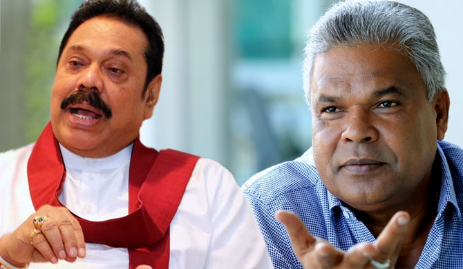 Dudley says he is grateful to Mahinda forever
