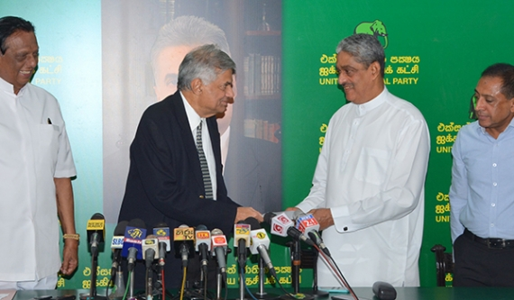 UNP gives Kelaniya electorate to Fonseka