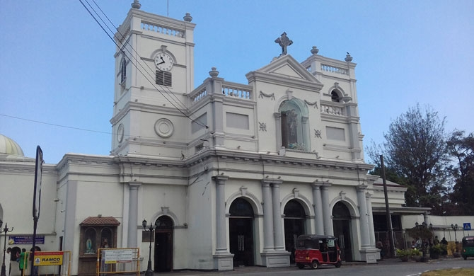 Kochchikade church is open for devotees from today